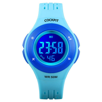 Kid's Blue Digital Watch