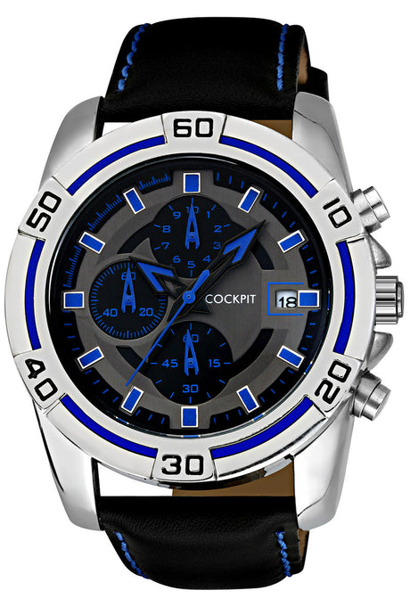 Men's Metal Case Sport Watch