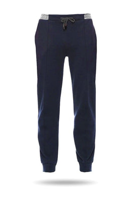 Men's Basic Navy Blue Sport Pants