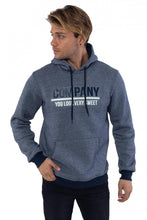 Load image into Gallery viewer, Men's Hooded Khaki Fleece Sweatshirt