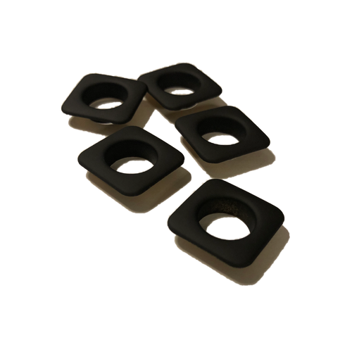 50pc Square eyelets 12mm for pixel strip