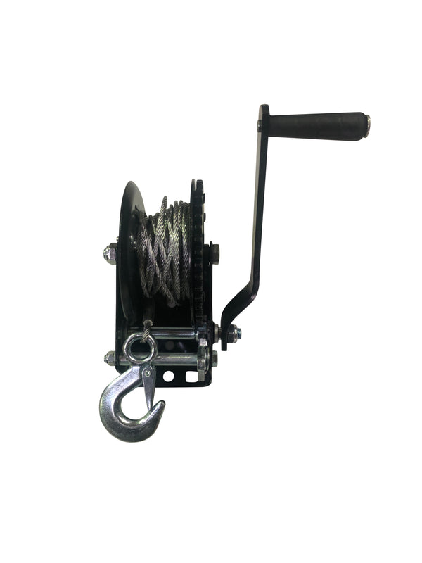 Mattos Designs 1200 Lbs Hand Winch