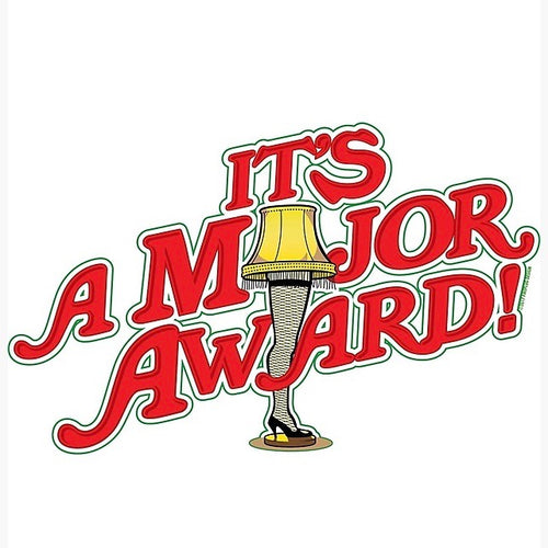 It's a Major Award