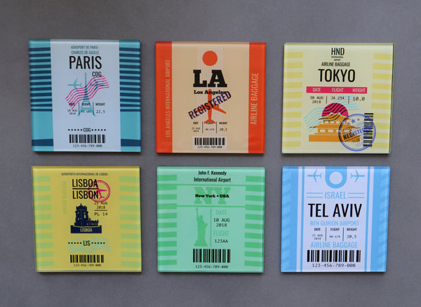 TRAVEL TAG SET