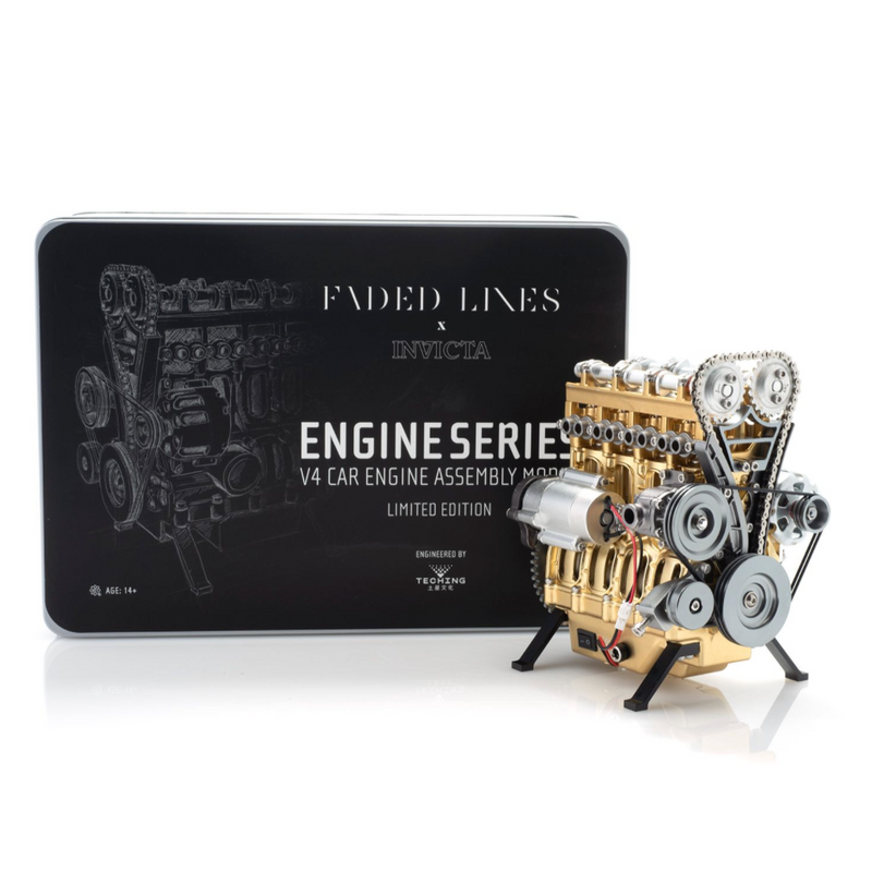 FADED LINES X INVICTA V4 CAR ENGINE ASSEMBLY KIT