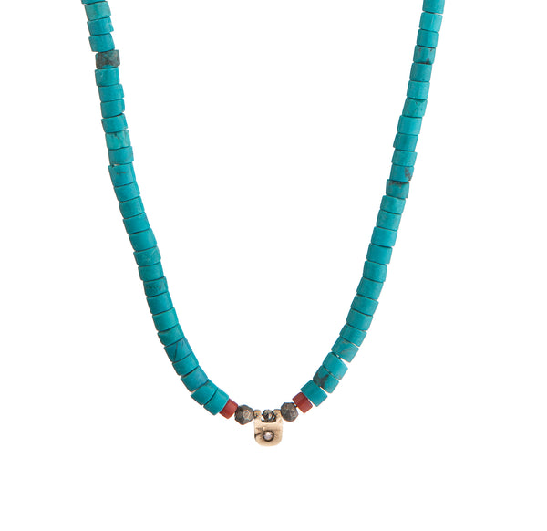 TURCHESE N° 1 Necklace