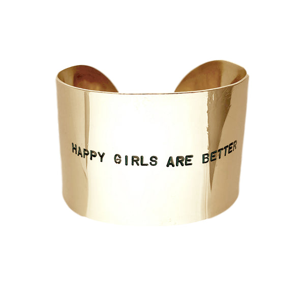 Bracciale HAPPY GIRLS ARE BETTER