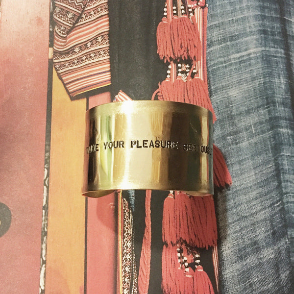 Bracciale TAKE YOUR PLEASURE SERIOUSLY