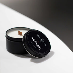 HUTWOODS X Midnight Hotel Travel Tin Soy Candle
