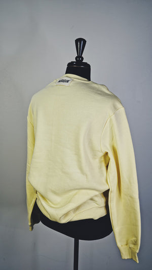 SUPERIOR CREW SWEATER - BUTTER