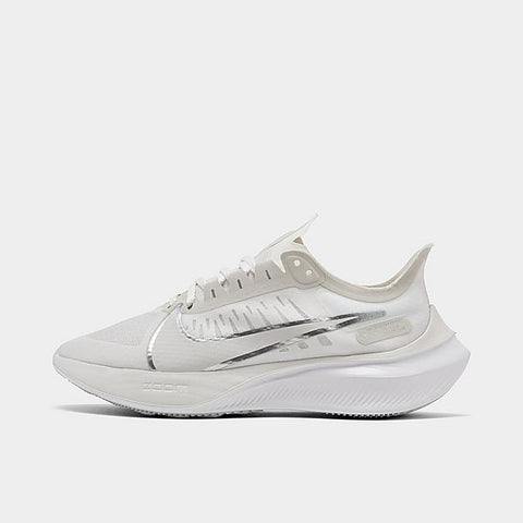 womens nike zoom gravity - platinum