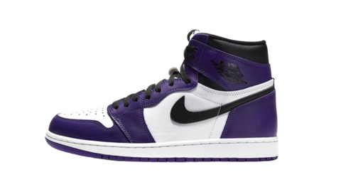 AJ1 Retro High Court Purple - White