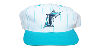 FLORIDA MARLINS 90'S PINSTRIPED SNAPBACK