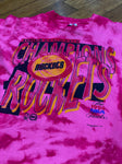 Pink tye dye Houston rockets 94'