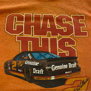 Early 90's orange Chase this rusty wallace nascar