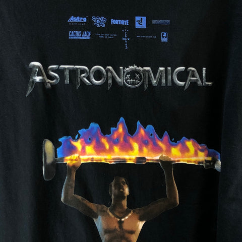 Travis scott x fortnite astronomical limited edition