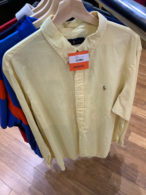 Yellow polo dress up shirt Size XL