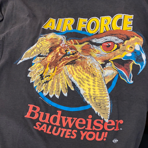 80's Budweiser air force eagle