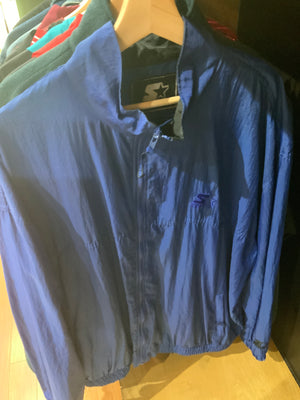 Starter Royal blue winbreaker Size XL
