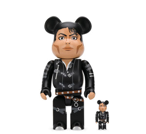 Michael jackson bad bearbrick 100/400%