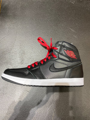 Air jordan 1 og hi - satin blk