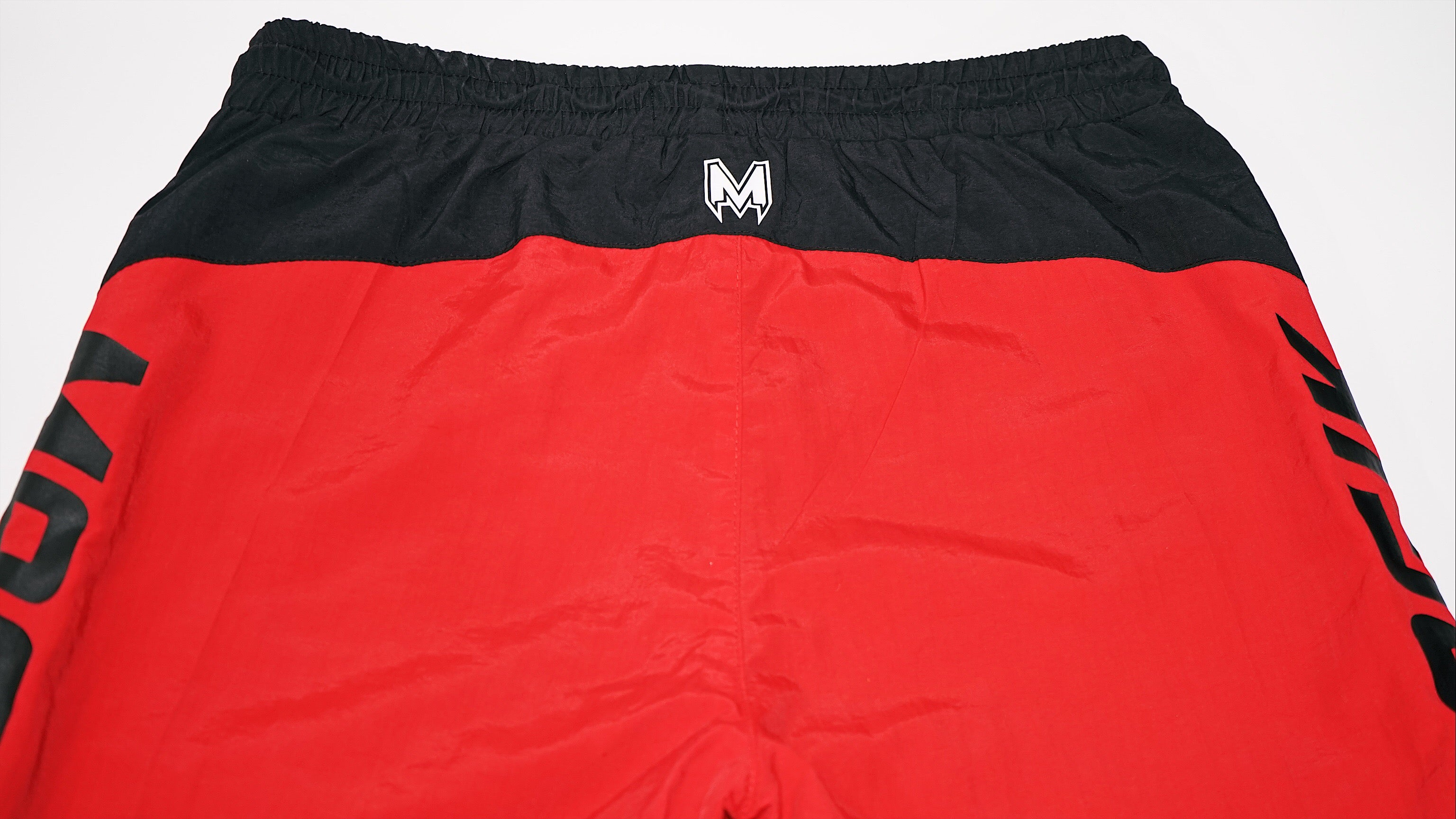 FRG FLIGHT NYLON SHORT - RED/BLK