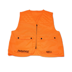 PRAY FOR EM' QUILTED VEST - ORANGE