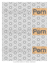 Load image into Gallery viewer, ASANOHA - Geometry Porn