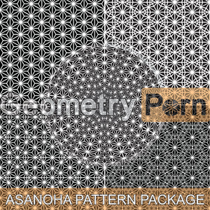 ASANOHA PATTERN PACKAGE - Geometry Porn