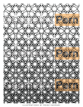 Load image into Gallery viewer, ASANOHA PATTERN PACKAGE - Geometry Porn