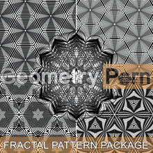 Load image into Gallery viewer, FRACTAL PATTERN PACKAGE - Geometry Porn