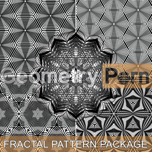 FRACTAL PATTERN PACKAGE - Geometry Porn