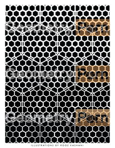 HONEYCOMB FADE - Geometry Porn