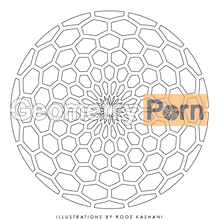 Load image into Gallery viewer, HONEYCOMB PORTAL - Geometry Porn