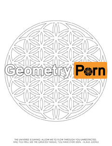 SACRED GEOMETRY COLORING BOOK - Geometry Porn