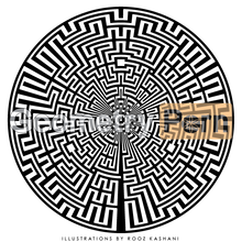 Load image into Gallery viewer, SACRED LABYRINTH PORTAL III - Geometry Porn