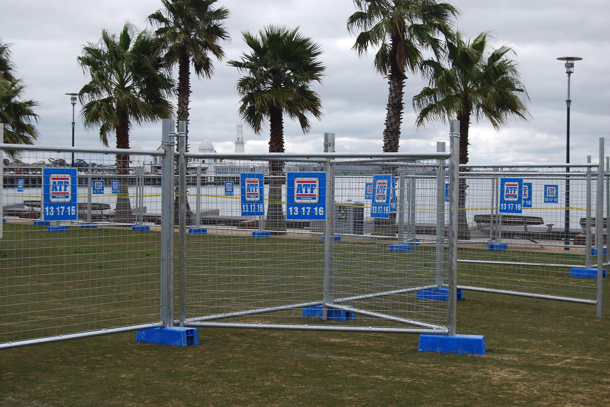 Additional Fencing Products - stop wind blowing over temporary fences.