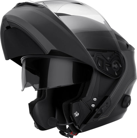 SENA OUTRUSH FLIP-UP BT HELMET MATTE BLACK  OUTRUSH-MB00