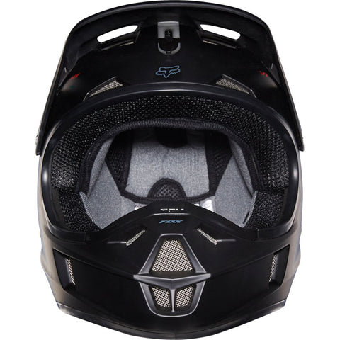 FOX RACING HELMET V1 YOUTH MATTE BLACK STYLE#16455