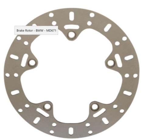 Unified Brake Rear Rotor - MD671