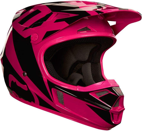 FOX RACING YOUTH HELMET V1 (PINK) STYLE#19541