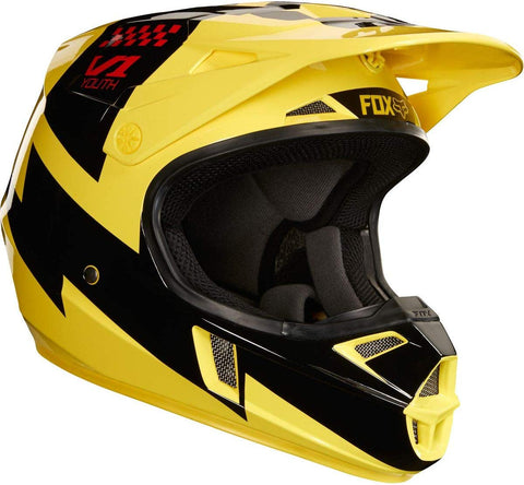 FOX RACING YOUTH HELMET V1 STYLE#19543