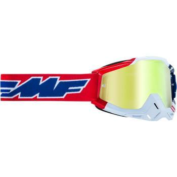 FMF VISION PowerBomb Goggles - US of A - Gold  F-50200-253-07