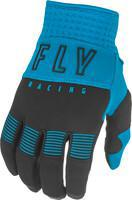 FLY RACING F-16 GLOVES BLUE/BLACK