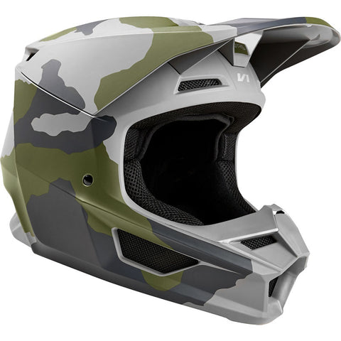FOX RACING V1 PRZM CAMO HELMET YOUTH STYLE#24755