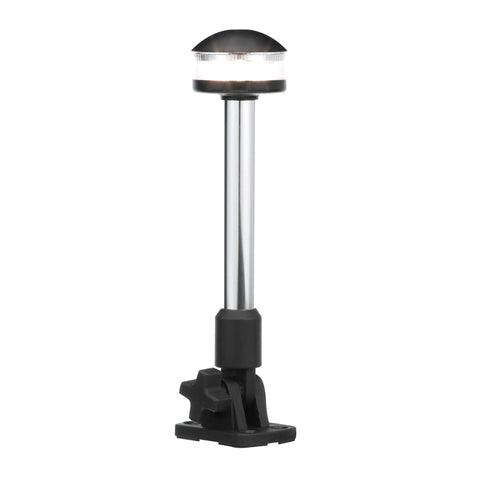 "SEACHOICE LED ALL-AROUND LIGHT 9"" OVERALL HEIGHT 12 VOLT"