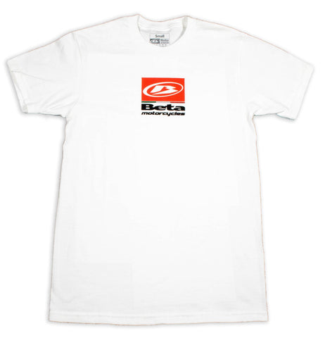 Beta Motorcycles White Tee