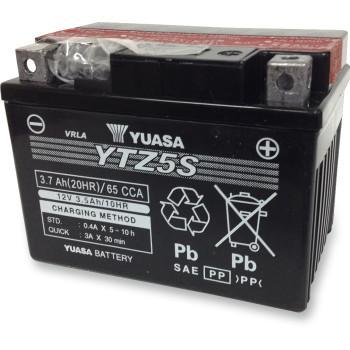 YUASA High Performance AGM Maintenance-Free Battery  YTZ5S