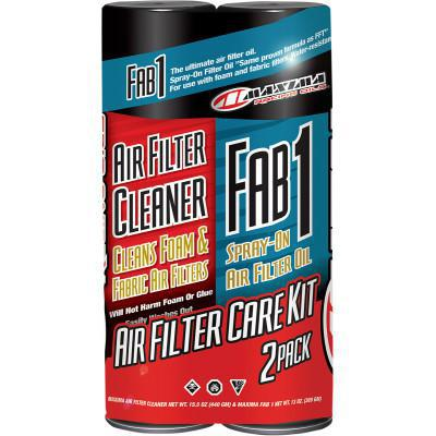 MAXIMA FAB 1 AIR FILTER CARE KIT - 2 PACK