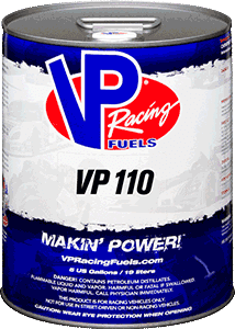 VP RACING FUEL VP110 5 GALLON PAIL
